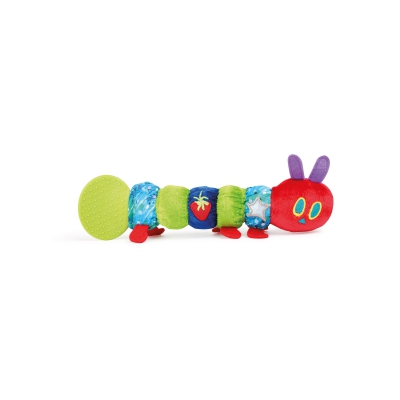 The Very Hungry Caterpillar gripping toy and teething toy