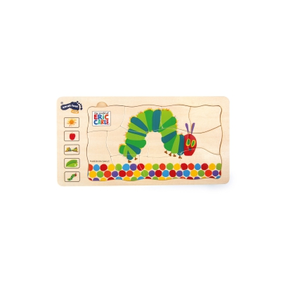 The Very Hungry Caterpillar layer puzzle