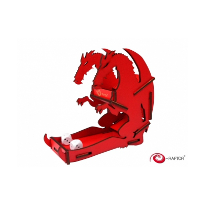 Dice Towers Small - Dice Tower - Dragon (Red)