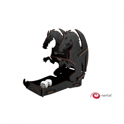Dice Towers Small - Dice Tower - Dragon (Black)