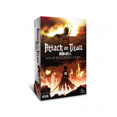 Attack on Titan Deckbuilding Game