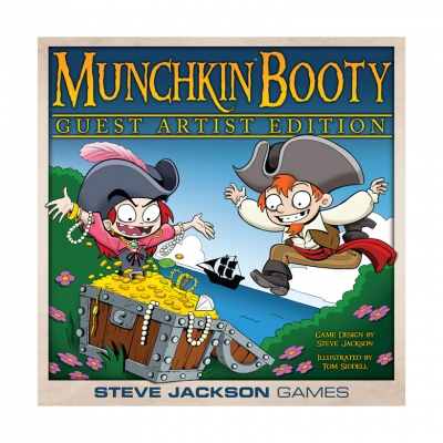 Munchkin Booty Guest Artist Edition (Tom Siddell)