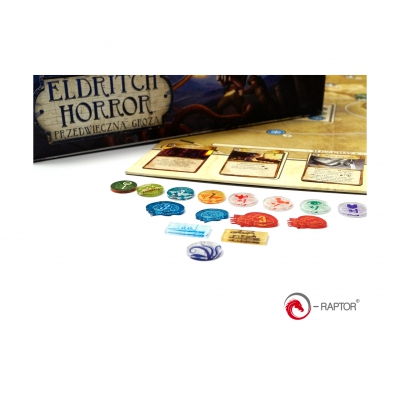 Token and Markers - Eldritch Horror Complete Tokens Set (184 Stück)