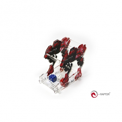 Dice Towers - Dice Tower - MFF Mech (Red)