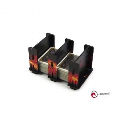 Board Game Card Holders - Card Holder - 2S FullPrint HDF Lava