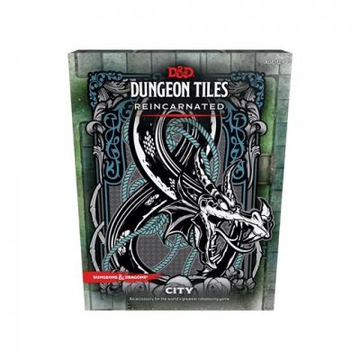 Dungeons & Dragons - RPG Dungeon Tiles Reincarnated - City (16)