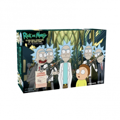 Rick and Morty Deckbuilding Game