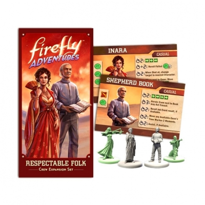 FIREFLY Adventures - Brigands & Browncoats - Resepctable Folk Expansion