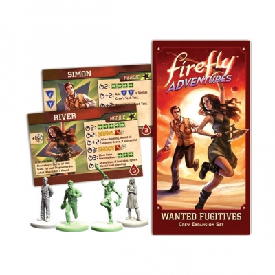FIREFLY Adventures - Brigands & Browncoats - Wanted Fugitives Expansion