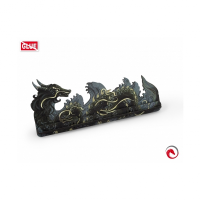 Board Game Card Holders - Card Holder L Dragon Fullprint Gray