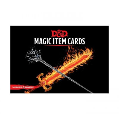 Dungeons & Dragons - Magic Item Cards (292 Cards)