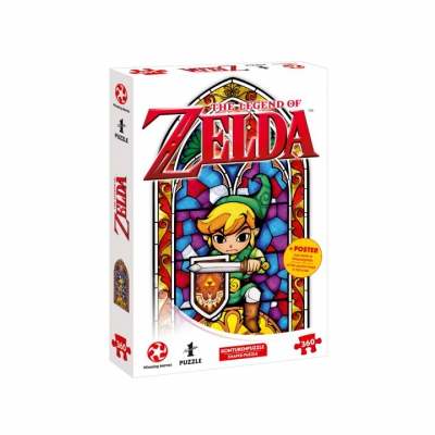 Puzzle - Zelda Link-The Hero of Hyrule - 360 pc