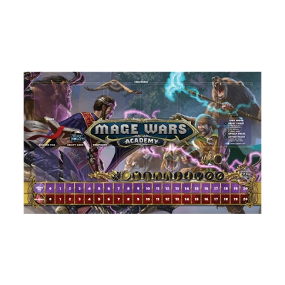 Mage Wars Academy Playmat - Beastmaster vs Wizard
