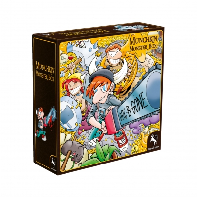 Munchkin Monsterbox Cover 1 (Huang) - Brettspiele