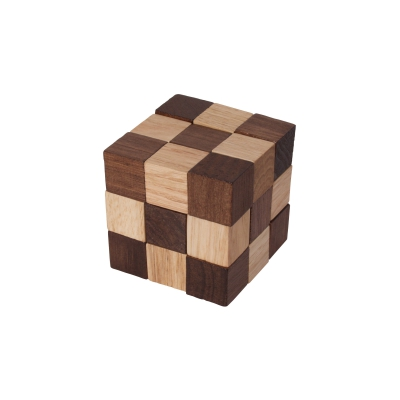 Cube Snake brown