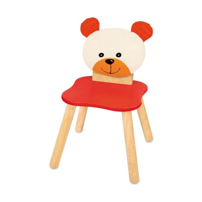 Childrens chair bear - 310x310x550mm