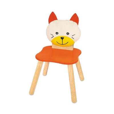Childrens chair - cat - 310x310x550 mm