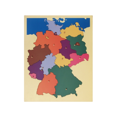 Puzzle Map Germany