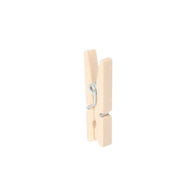 Mini Wooden Clip 25 mm