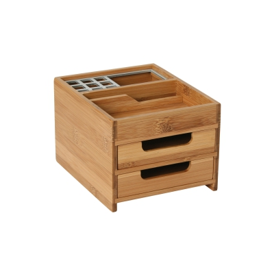 Desktop Box M Bamboo - Alu