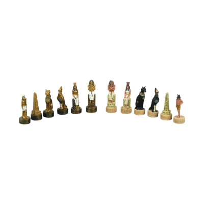 Chessmen - Egypt - crushed stone - King size 84 mm