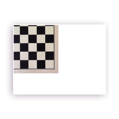 Checkerboard printed maple - width 50 cm - field size 55mm