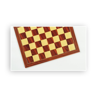 Chessboard - Rosewood and Maple - width 62cm - field size 65mm