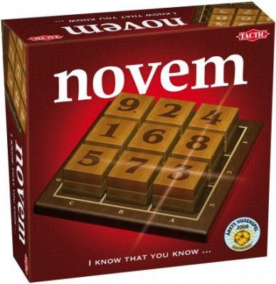 novem - you need power of the mind and nerves of steel