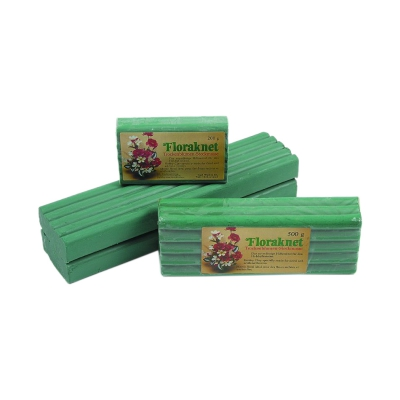 Flora-of plasticine rolls block mold 1000 g - floral foam for dry flowers and decorative items