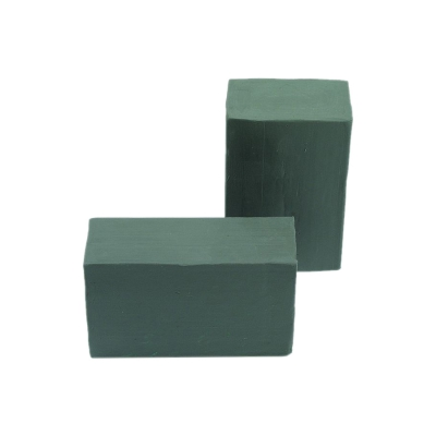Industrial plasticine - block form 1000 g - green gray - sealing molding and more