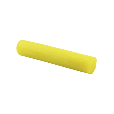 Pastel-kneading roll form 100 g - yellow