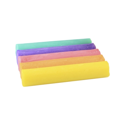 Pastel-kneading 5 Roles - colored - 200g