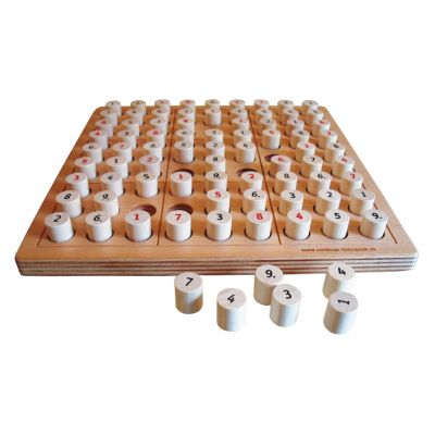 SUDOKU - the wooden board game