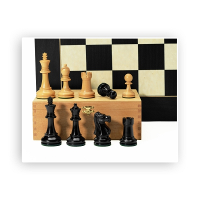 Chess figures - Original Jaques Staunton - King size 95mm