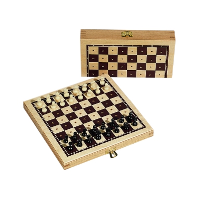 Plug Chess - Wood - Printed - 16x8 cm