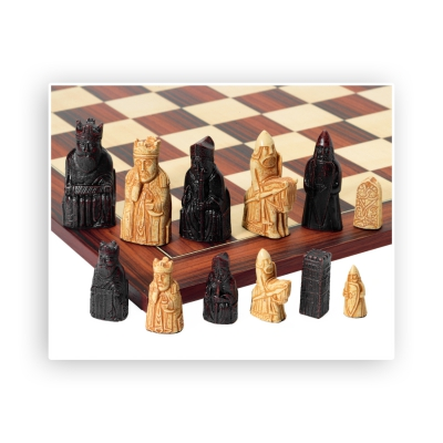 Chess figures - Isle of Lewis - large - King size 90mm
