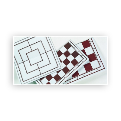 Chessboard foldable - Tournament Size - width 52cm - field size 55mm