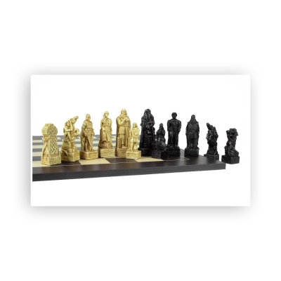 Chess figures - Celts - King size 114mm