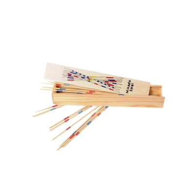 Mikado made of bamboo 25 cm - in wooden box
