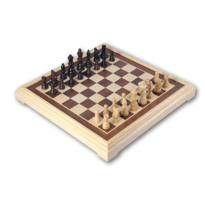 Cheess game with inlay - 40 cm