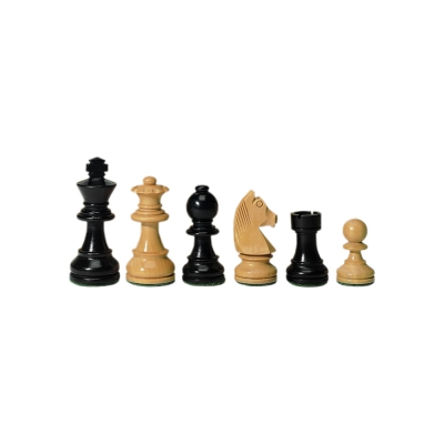 chessmen - Staunton - black - King height 76 mm