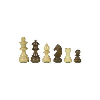 Chess - Staunton - brown - king height 63 mm