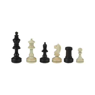 Chessmen - Bohemia - Staunton - brown - king height 96 mm