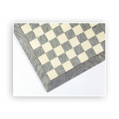 Chessboard - birdseye maple - graun and natural - width 45 cm - field size 45 mm