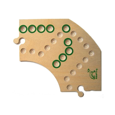 Brändi Dog - replacement board part - green