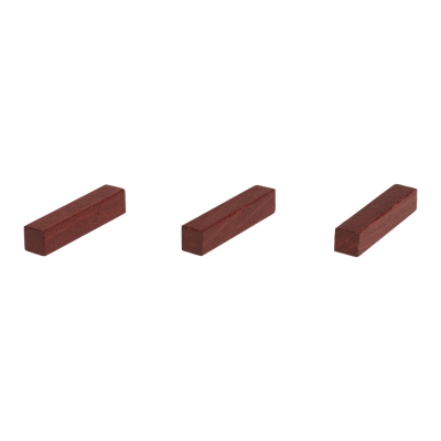 Sticks - game pieces - streets - wood - brown - 25 mm