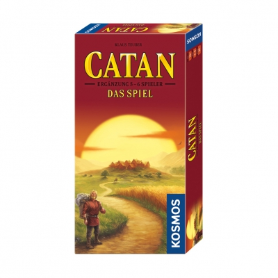 The Settlers of Catan - extension pack - 5 - 6 players