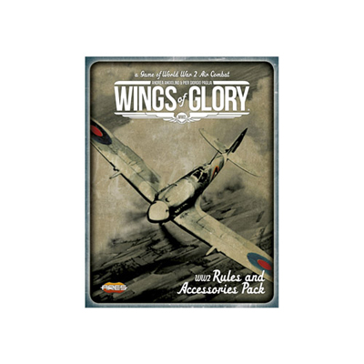 Wings of Glory WW2 - Rules and Accessories Pack und Airplane Packs Combo WGS600A