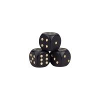 Spielfiguren - pöppel- schwarz