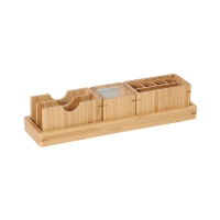 desctop holder Bamboo, 4 parts